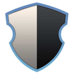 Elegant Gray Black Shield.png