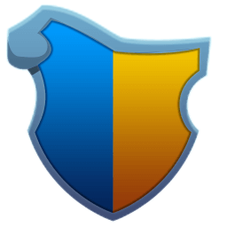 Ornate Blue Yellow Shield.png