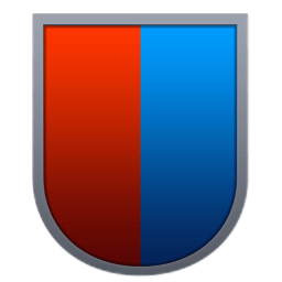 Curved Red Blue Shield.png