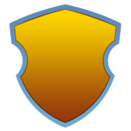 Elegant Yellow Shield.png
