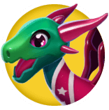 Cheerleader Dragon Icon.png