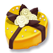 Yellow Icing Heart Cake.png