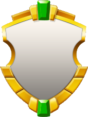 Elegant Gray Double Emerald Shield.png