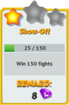 Achievement - Show-Off (Tier 2).png