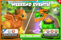 Sunfeather Dragon & Shamrock Dragon Promotion (Weekend Events).jpg