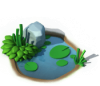 Decoration - Pond with Rock.png