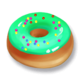 Green Icing Donut.png