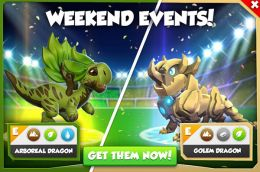 Arboreal Dragon & Golem Dragon Promotion (Weekend Events).jpg