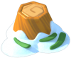 Decoration - Frosty Stump.png