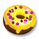 Yellow Icing Donut.png
