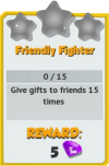 Achievement - Friendly Fighter (Tier 1).png