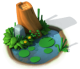 Decoration - Pond with Trunk.png