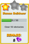 Achievement - Human Bulldozer (Tier 2).png