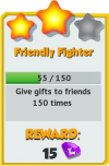 Achievement - Friendly Fighter (Tier 3).png