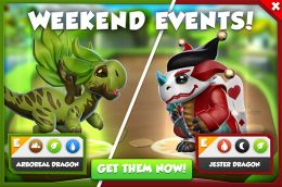 Arboreal Dragon & Jester Dragon Promotion (Weekend Events).jpg