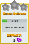 Achievement - Human Bulldozer (Tier 1).png
