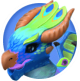 Peacock Dragon Icon.png