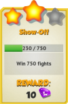 Achievement - Show-Off (Tier 3).png