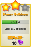 Achievement - Human Bulldozer (Tier 3).png