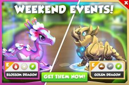 Blossom Dragon & Golem Dragon Promotion (Weekend Events).jpg