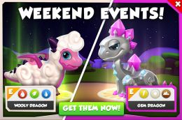 Wooly Dragon & Gem Dragon (Weekend Events).jpg