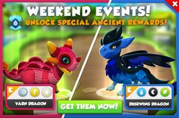 Yarn Dragon & Duskwing Dragon Promotion (Weekend Events).jpg