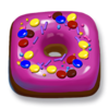 Square Purple Icing Donut.png